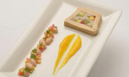Cubism of foie gras, Tarbes...