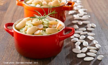 Tarbes beans, ESTOFINADO style