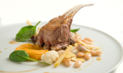 Rack of Lamb and Tarbes...