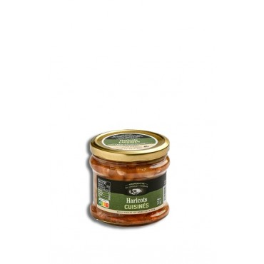 Jar Beans Tarbes cooked380g...