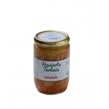 EDITION LIMITEE - Bocal Haricots Tarbais cuisinés 600g Blanc