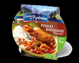 Barquette Poulet Basquaise...